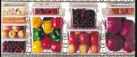 Lebensmittel-Lagerung