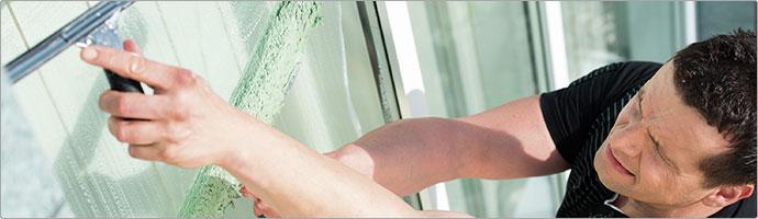 Fenster- und Oberflächenreinigung