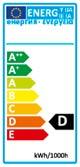 EU-Ecolabel Lampen D
